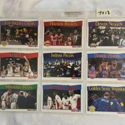 1991 Team Basketball Cards - Almost 30 Years Old