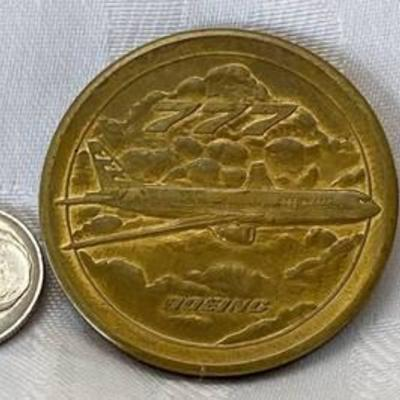 BOEING 777 Roll Out Coin 1993 Wichita Ks - wow