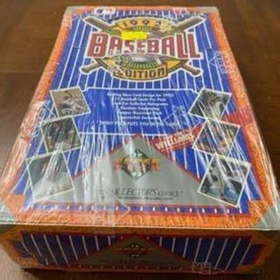 BRAND NEW Old Stock 1992 Upper Deck Collector's Choice Baseball Cards - Vintage New