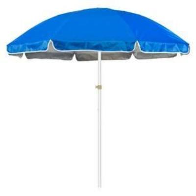 6.5' Portable Beach and Sports Umbrella by Trademark Innovations (Blue)