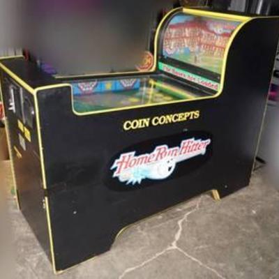 Home Run Hitter Arcade Machine - Coin Concepts