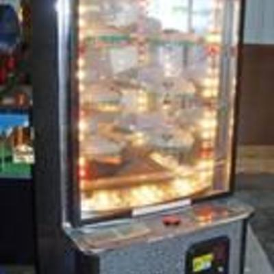 Sports ARENA Arcade Machine - Works - If it Stops Next to a Carousel with Prizes, You Win a Prize