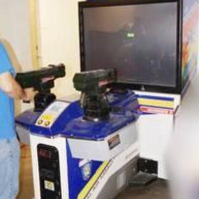 Gunblade NY DX Arcade Machine - 2 Shooter Game
