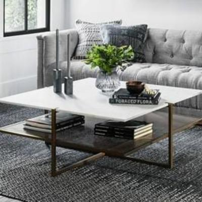 Hyla Square Coffee Table Base only