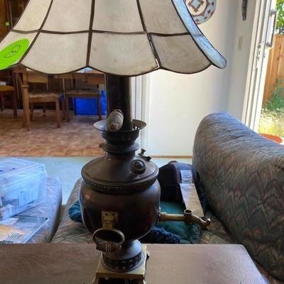 Item# 8 lamp $20.