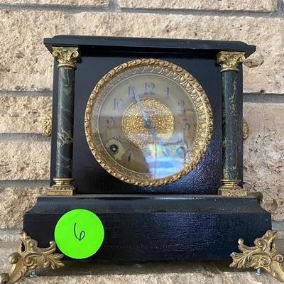 Item# 6 Ingraham clock $35.