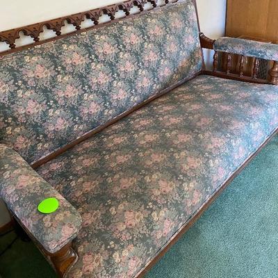 Item # 5 sofa $95.