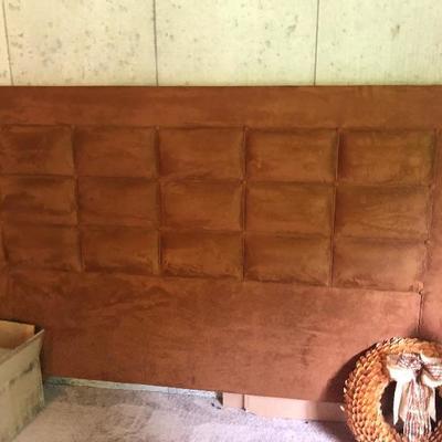 Custom made headboard