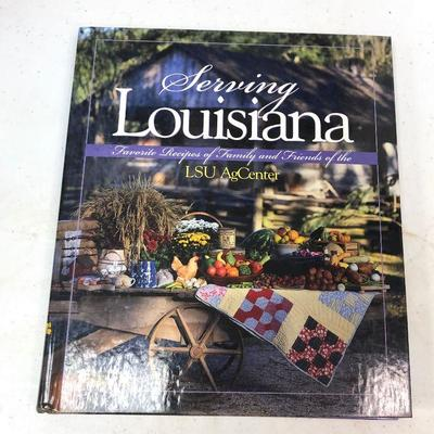 https://www.ebay.com/itm/114245360660	LAN9878 Serving Louisiana LSU AgCenter Cookbook	 $10.00 	Buy-It-Now