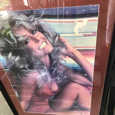 Farah Faucet poster $25