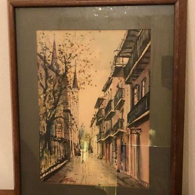 https://www.ebay.com/itm/114260171185	RG2109: Nestor Fruge New Orleans ST Louis Cathedral Local Pickup at Estate Sale