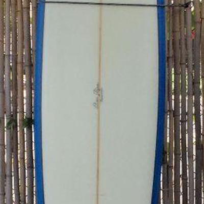 BAS030-Ben Aipa Designed 9' Lokelani Graphics Surfboard