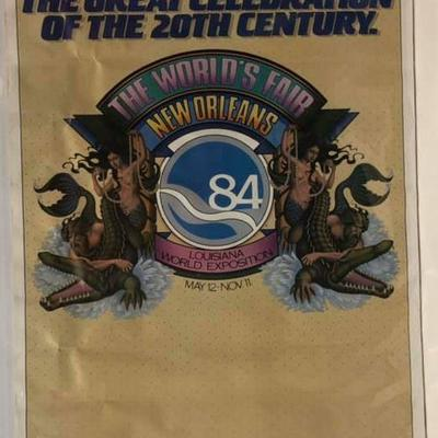 https://www.ebay.com/itm/124200839787	Cma2056: World Fair New Orleans 1984	 $40