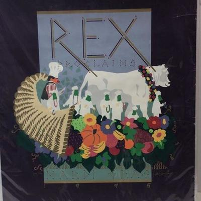 https://www.ebay.com/itm/114237284721	Cma2049: Rex 1995 Proclaims Signed #/500 Proclamation	 $130