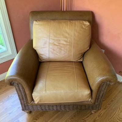 Leather Laguna Chaps Arm Chair $350