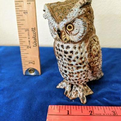 MAS photo 2 of 2 Ceramic owl - standing $20.00