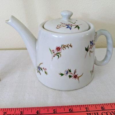 MAS photo 1 of 2 Teapot with flowers  Made in France $15.00