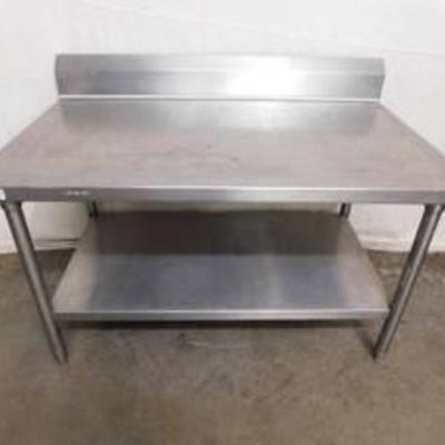 4' Stainless Equipment Stand Nice Heavy Duty
