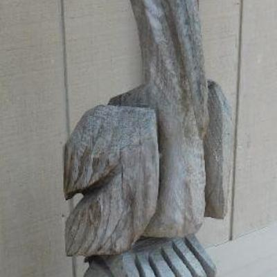 Hand Carved Pelican