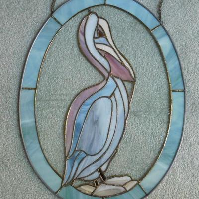 Stain Glass Pelican