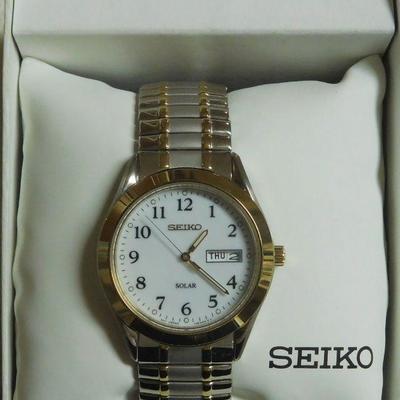 Seiko Solar -- Runs Great