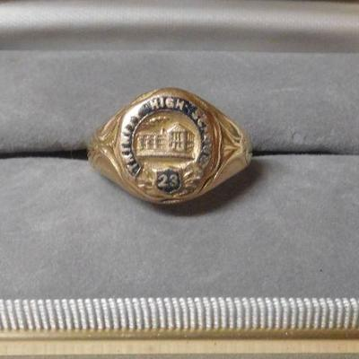 10 k 1923 Class Ring