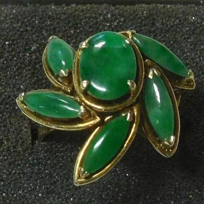 14 k Stone Ring