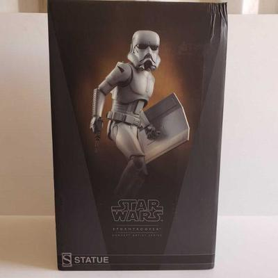 1200  Star Wars Stormtrooper Concept Artist Series Statue Factory Sealed.