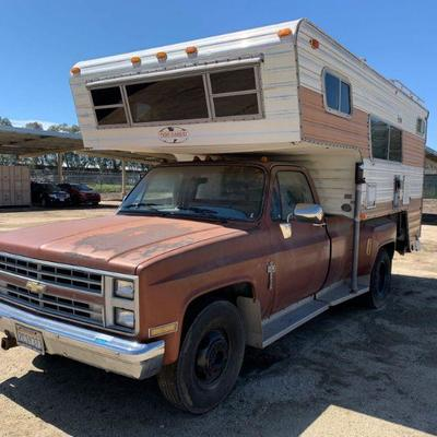 350: 1986 Chevy C30 Sold on non op Year: 1986 Make: Chevrolet Model: C30 Vehicle Type: Pickup Truck Mileage: 24.655 Plate: Body Type: 2...