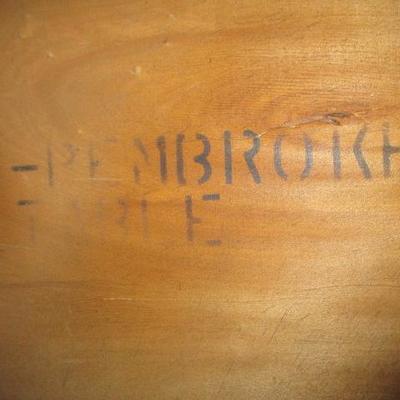 Pair of Inlaid Sheraton Pembroke Drop Leaf Table