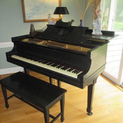 Krakauer Bros Baby Grand Piano