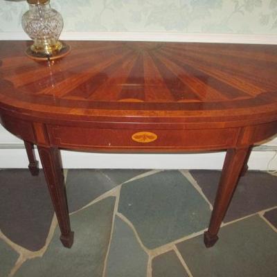 Baker Historic Charleston Mahogany Game Table