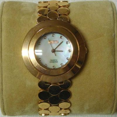 Manhattan Diamond Dial Watch