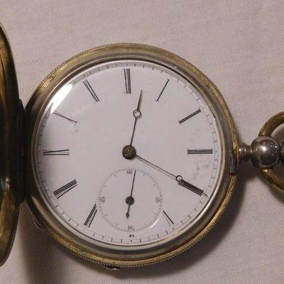 Richard & Co. Pocket Watch -- Watch Case Has a Crown Over 18
