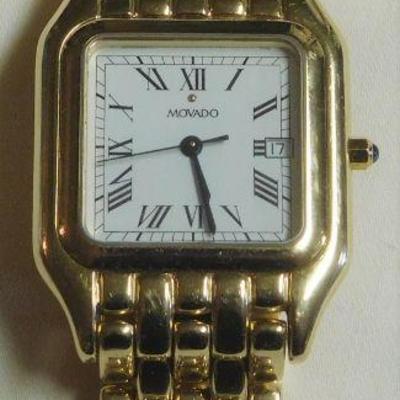 Movado 14 k Watch