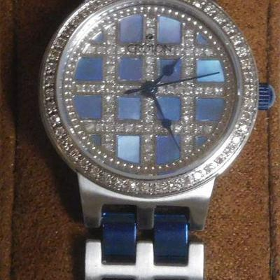 Croton Diamond Case and Dial Watch