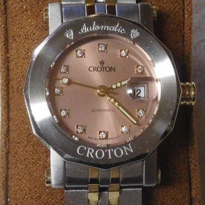 Croton Automatic Watch -- Runs