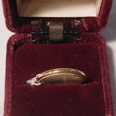 14 k Band Ring -- Tested 14 k