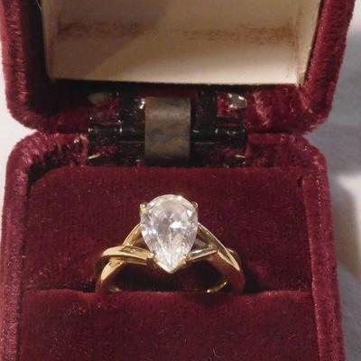 14 k Tourmaline Ring