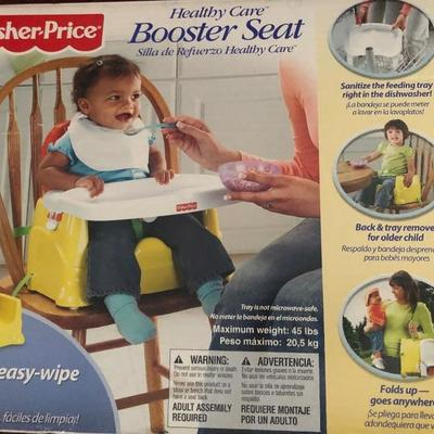 Travel booster chair. Great for grandparents house or taking your own seat to a restaurant.