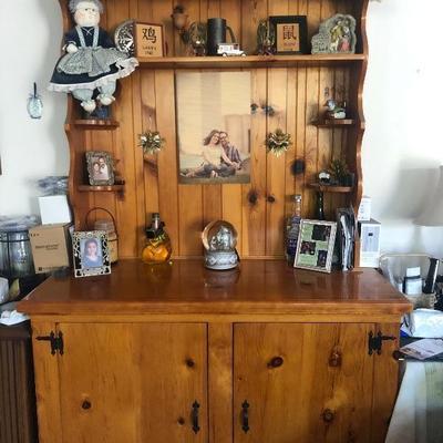 Custom made cabinet.