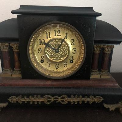 Antique clock. Still works.
