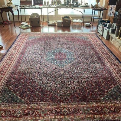 Indo Bidjar room size hand tied rug