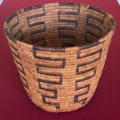 Papago Native American basket