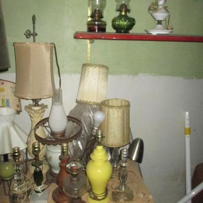 Tons of Lamps To Choose From
