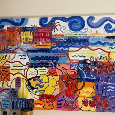 Original painting by Céline Chourlet, France