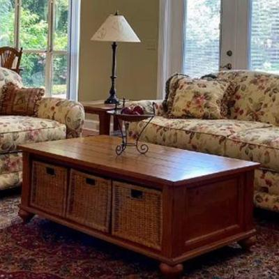 Sofa, Love seat, coffee table and end tables