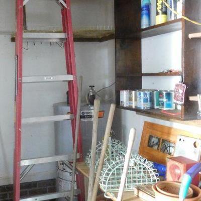 Tall Ladder