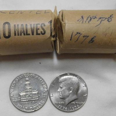1976 Kennedy Halves