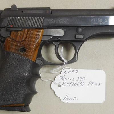 Taurus Pt 58 380